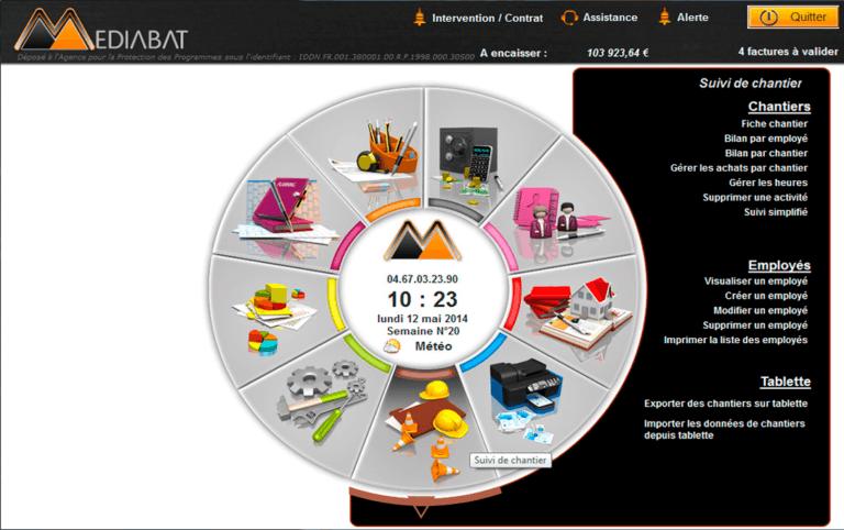 Mediabat logiciel de devis facture bâtiment