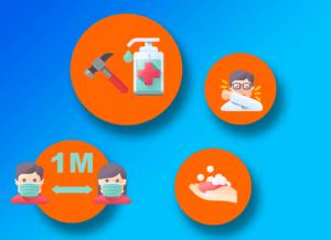 Coronavirus : Les mesures pour reprendre vos chantiers