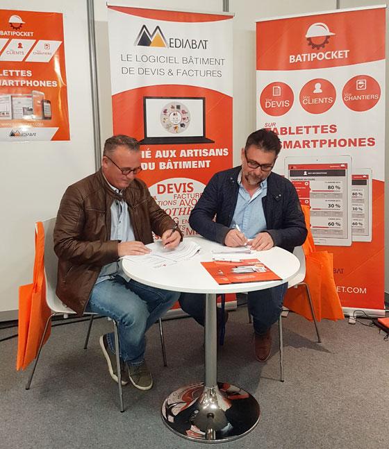 Signature Partenariat CAPEB Ain