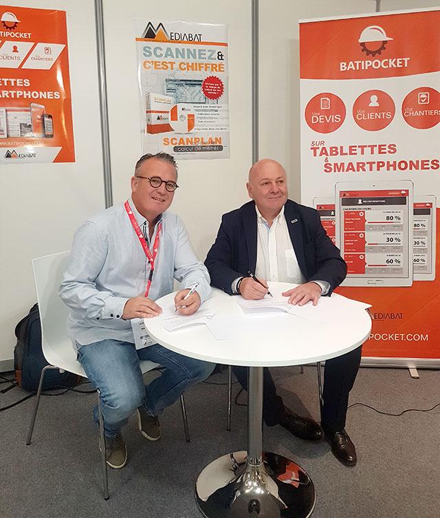 Signature Partenariat CAPEB 67