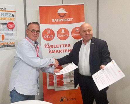 Signature partenariat CAPEB Bas-Rhin