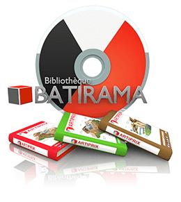 Bibliothèque Batirama Artiprix