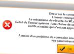 Erreur SMTP Gmail