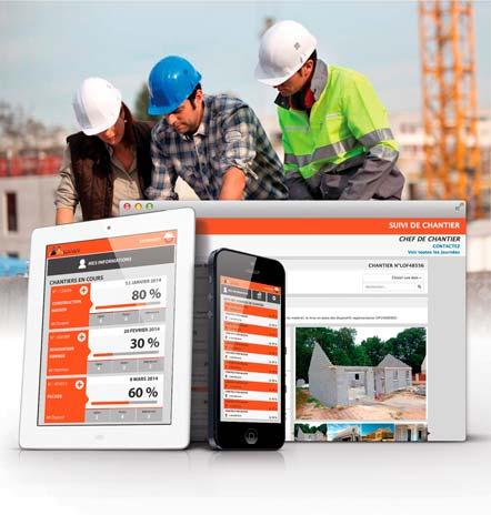 Assurez le suivi de vos chantiers à travers la gestion du personnel, des stocks, des fournisseurs...