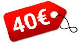 Location réseau 40€/mois
